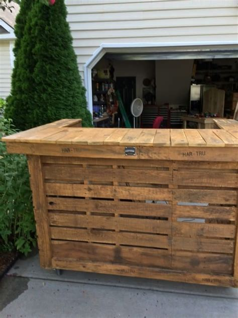backyard pallet bar pallet bar pallet lounge bar