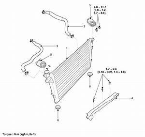 Kia Sorento  Radiator Components - Cooling System - Engine Mechanical System