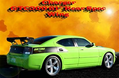 Charger Dodge Spoiler Wing Rear 2005 Spec