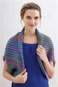 Free Crochet Pattern Shrug Lion Brand