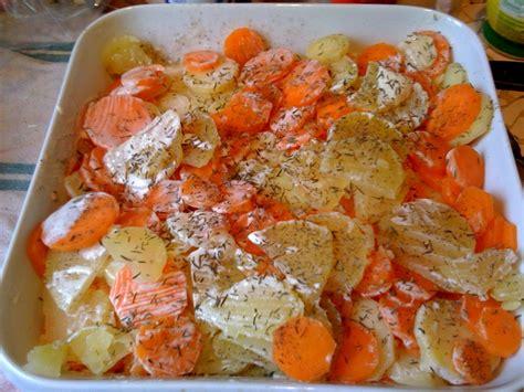 mandoline cuisine gratin facile de pommes de terre et carottes 3 5pp pers