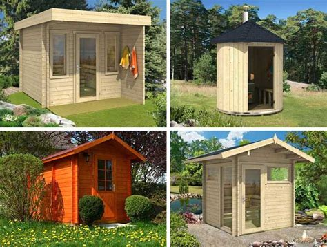 sauna garten ein saunahaus im garten die kleinsten saunen 2016