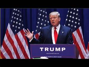 Donald Trump Presidential Announcement Full Speech 6/16/15 ...