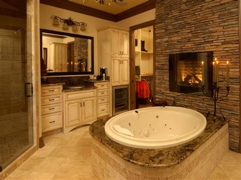 master bathroom design photos 15 exles of opulence and elegance bathrooms with fireplace