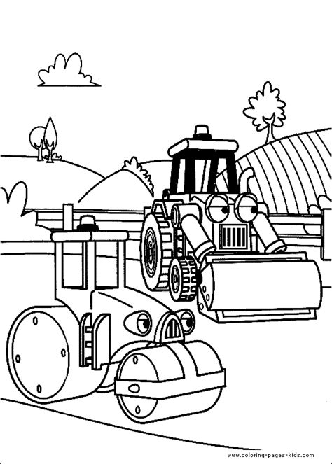 Builder Free Print by Bob The Builder Color Page Coloring Pages For