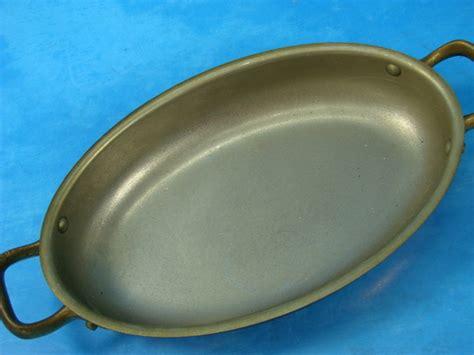tagus elite copper cookware wbrass handle set   portugal ebay