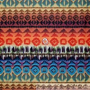 BonEful Fabric FQ Cotton Quilt Rainbow Red Purple ...