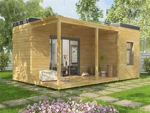 Cabane En Bois De Jardin : bungalow cabane de jardin en kit ou mont maisons elk ~ Dailycaller-alerts.com Idées de Décoration