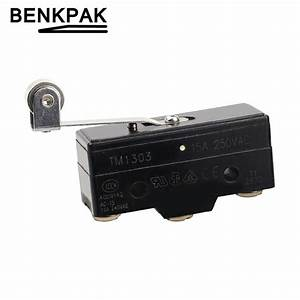 Quality Micro Switch Roller Leaf Spring Basic Switch Z