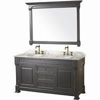 "black bathroom vanities 60"" Andover-60 Black Bathroom Vanity :: Bathroom Vanities ..."