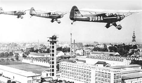 Verleger Franz Burda Und Der Wohnungsbau by Vorbild Dokumentation Burda Piper Flugmodell