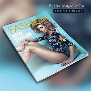 fashion magazine cover free psd template download With custom magazine cover templates