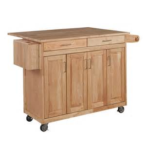 rona kitchen islands home styles kitchen cart w breakfast bar the home depot canada