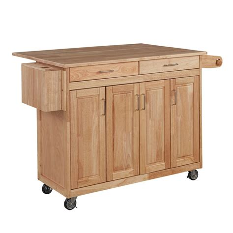 kitchen islands home depot home styles kitchen cart w breakfast bar the