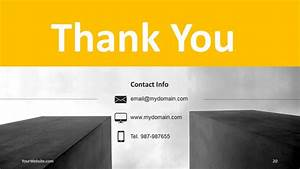 Contact Information Template Free Our Company Powerpoint Template Slide Ocean