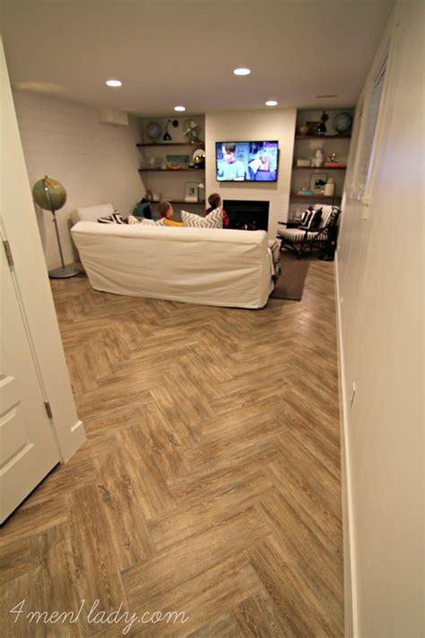 basement family room reveal