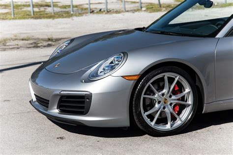 Porsche 911 purists will go on about how the sports car company is moving further away from its but to really silence the whiners, talk about how the new 911 carrera and carrera s are the the base model gets 370 horsepower, while the s ups that to 420; Used 2017 Porsche 911 Carrera S For Sale ($92,900) | Marino Performance Motors Stock #154428
