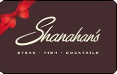 Boot Barn Gift Card Balance by Buy Shanahan S Steakhouse Gift Cards At A Discount