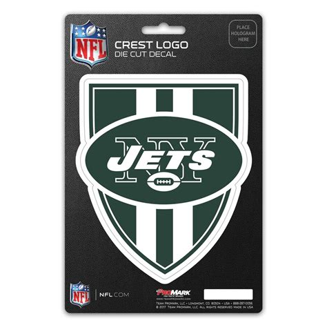 New York Jets Crest Logo Shield Decal