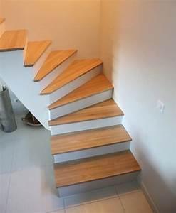 Escalier quart tournant en chêne Le blog du bois