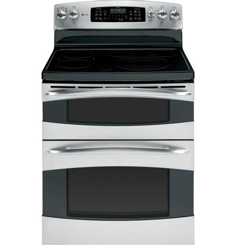 ge pbstss profile series electric freestanding range  smoothtop cooktop  cu ft