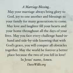 Wedding Blessings Prayers