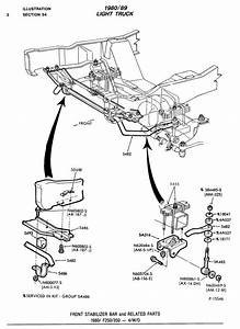 Help From Number Dummy Needed 1989 F350 Rear Sway Bar Bracketts