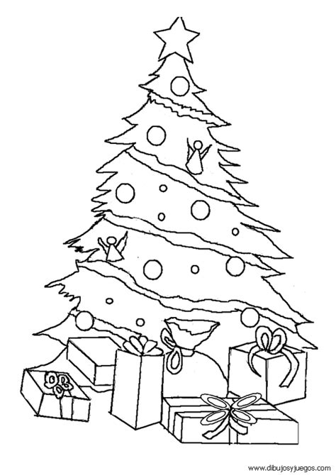 dibujo de arbol para colorear simple dibujo de rbol de