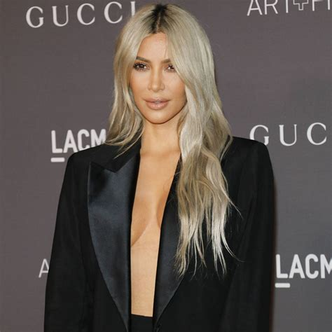 Kanye West Prefers Kim Kardashian With Blonde Hair