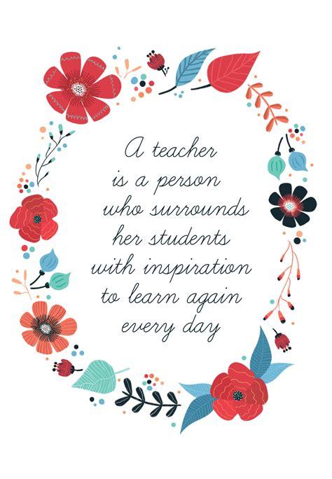 inspired teaching   card  teacher