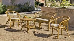 Salon Jardin Rotin. salon de jardin en rotin naturel sofa 2 ...