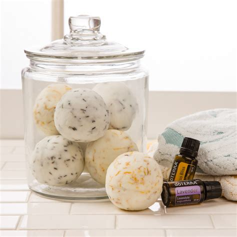 diy fizzing bath bombs doterra essential oils