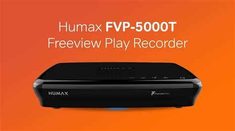 Humax FVP-5000T Freeview Play HD Recorder - YouTube
