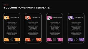 3  U0026 4 Column Powerpoint Templates And Keynote Diagrams