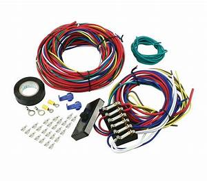 Empi Vw Dune Buggy Sand Rail Baja Universal Wiring Harness With Fuse Box 9466
