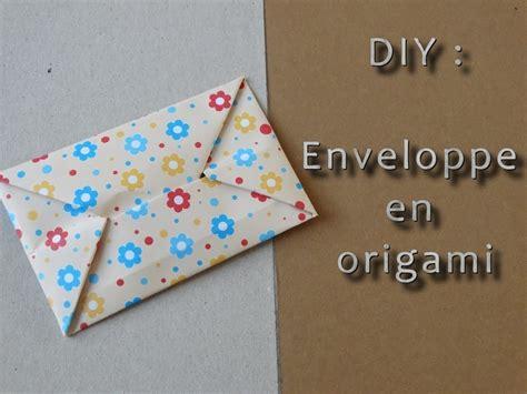 Enveloppe En Origami Diy Origami Envelope Fais Toi M 234 Me Ton Enveloppe En Origami