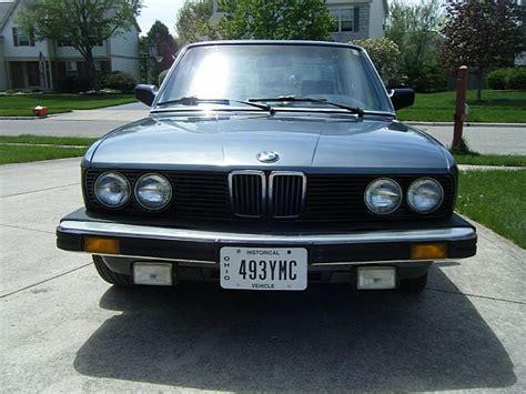 1986 Bmw 535i by 1986 Bmw 535i For Sale Columbus Ohio