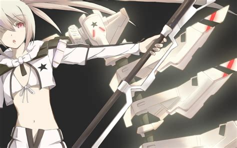 Anime Wallpaper Black Rock Shooter - white rock shooter wallpaper and background image