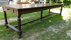 Table Ancienne De Ferme : grande table de ferme ancienne en ch ne ~ Teatrodelosmanantiales.com Idées de Décoration