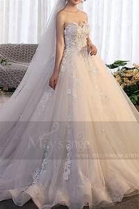 Robe De Mariée Champagne : robe de mari e m391 champagne p le ~ Preciouscoupons.com Idées de Décoration