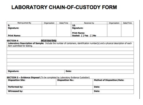 gao  obtain   fbi  laboratory chain