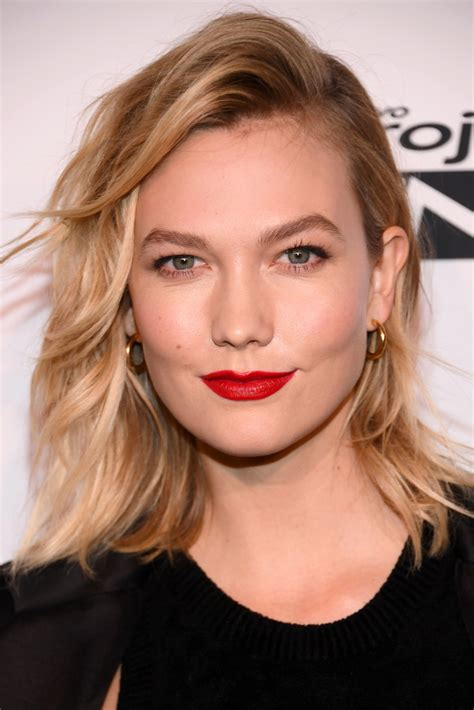 Karlie Kloss Red Lipstick Beauty Lookbook Stylebistro