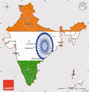 Simple Ancient India Map