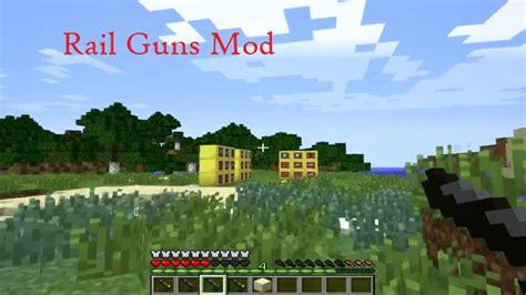 rail guns mod