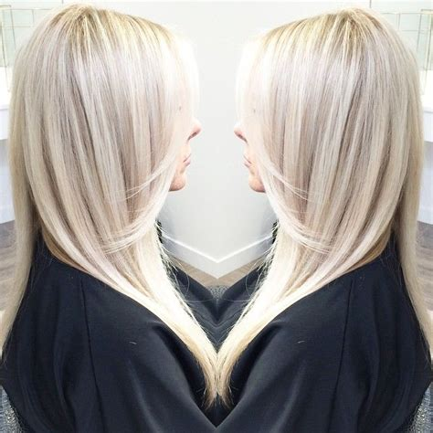 icy blonde  shadowy highlights pictures