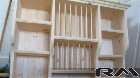 wooden plate rack diana wall mounted plate rack left