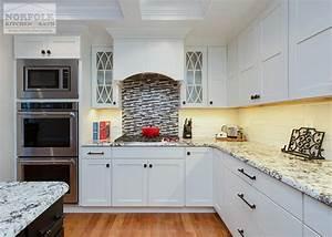 Black White Showplace Kitchen Norfolk Kitchen Bath