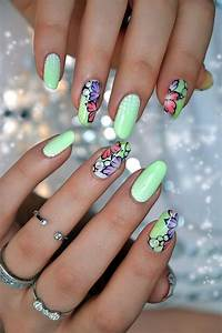 101 Cute Flower Nail Designs thatu0026#39;re too attractive to handle