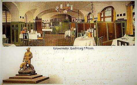ratskeller quedlinburg ho