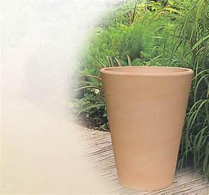 Moderne blumenkubel aus terrakotta fur den garten handel for Garten planen mit pflanzkübel keramik winterfest